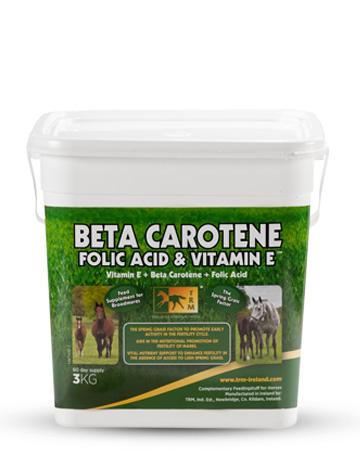BETA-CAROTENE, ACIDE FOLIC, VITAMINE E
